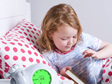 zazu sleep training clock sam lets your little one know when they've got longer