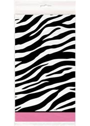 Zebra Pink Table Cover