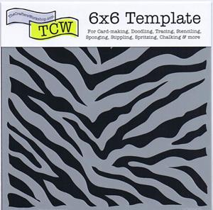 Zebra Print 6 x 6