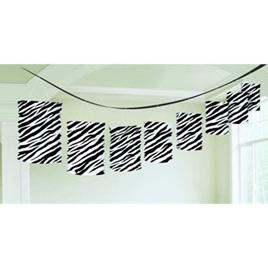 Zebra Print - Lantern Garland