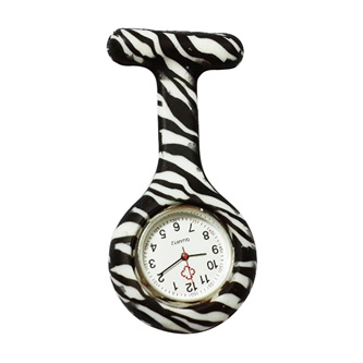 Zebra Stripe Nurse Watch