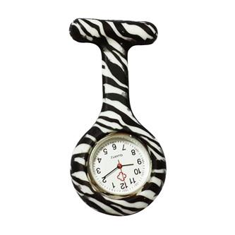 Zebra Stripe Nurse Watch