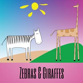Zebras & Giraffes
