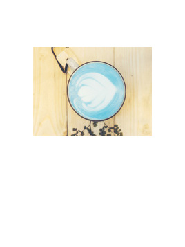 Zee Tea Organic Latte Blue Pea