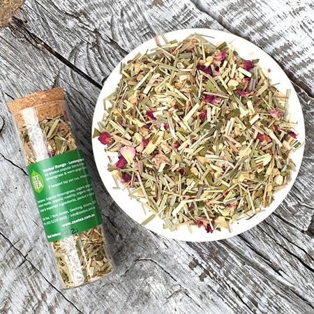 Zee Tea Organic Lemongrass & Ginger Tea 30g