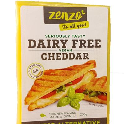 Zenzo Dairy Free Vegan Cheddar