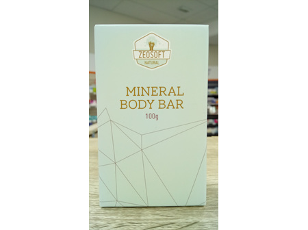 Zeosoft Mineral Body Bar
