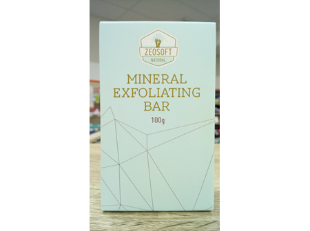 Zeosoft Mineral Exfoliator Bar