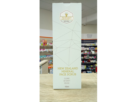 Zeosoft New Zealand Mineral Face Scrub