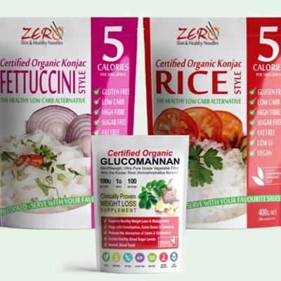 Zero Carb Konjac Pasta/Rice - 400g
