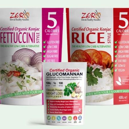 Zero Carb Konjac Pasta/Rice/Noodles
