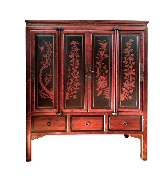 Chinese Cabinet Chinese Antique Furniture Lotus Antiques