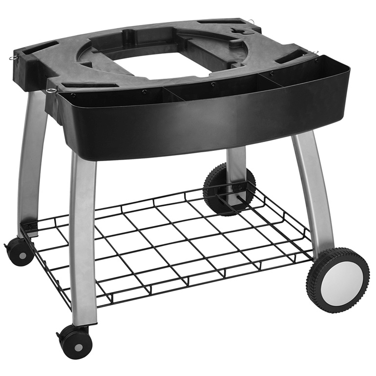 Ziegler & Brown Triple Grill Cart