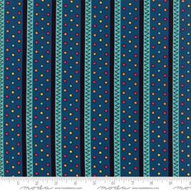 Zig Zag Prussian Blue - 18136-14