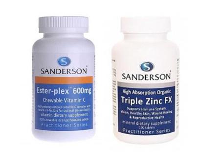 Zinc and Vitamin C Combo Deal