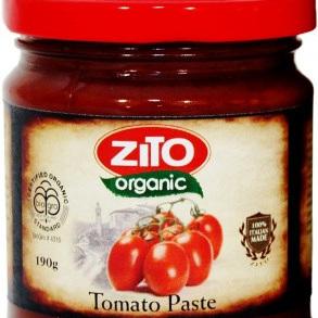 Zito Organic Tomato Paste 190g