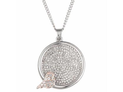 Zizu Silver Bird Necklace