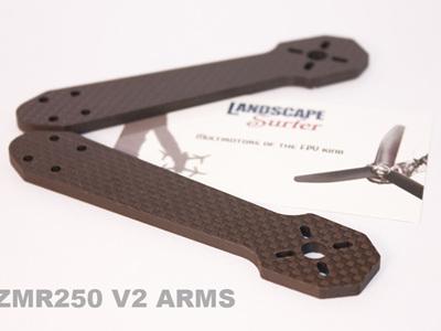 ZMR250 4mm V2 - 3k Carbon Fiber Arms