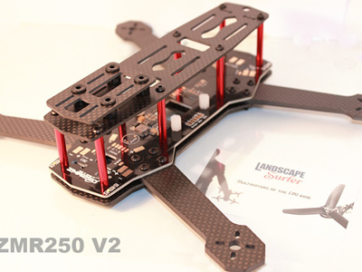 ZMR250 V2 Carbon Frame with PDB