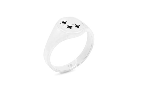 Zodiac Constellation Signet Ring