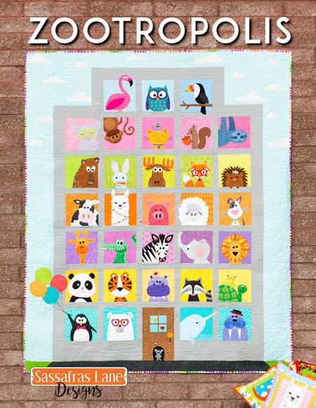 Zootropolis Quilt Book