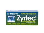 Zyrtec 10 tablets
