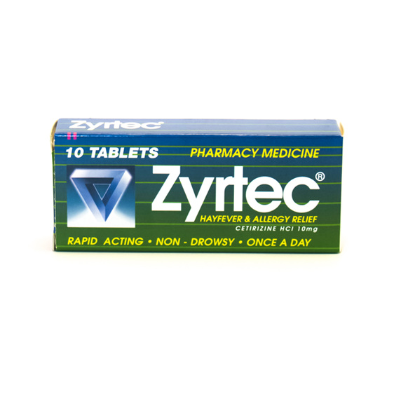 Zyrtec 10 tablets