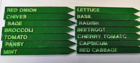 zz  Clearance Plant Stakes 6 (each)