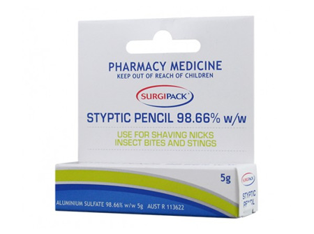 zzS/P STYPTIC PENCIL SINGLE 9941